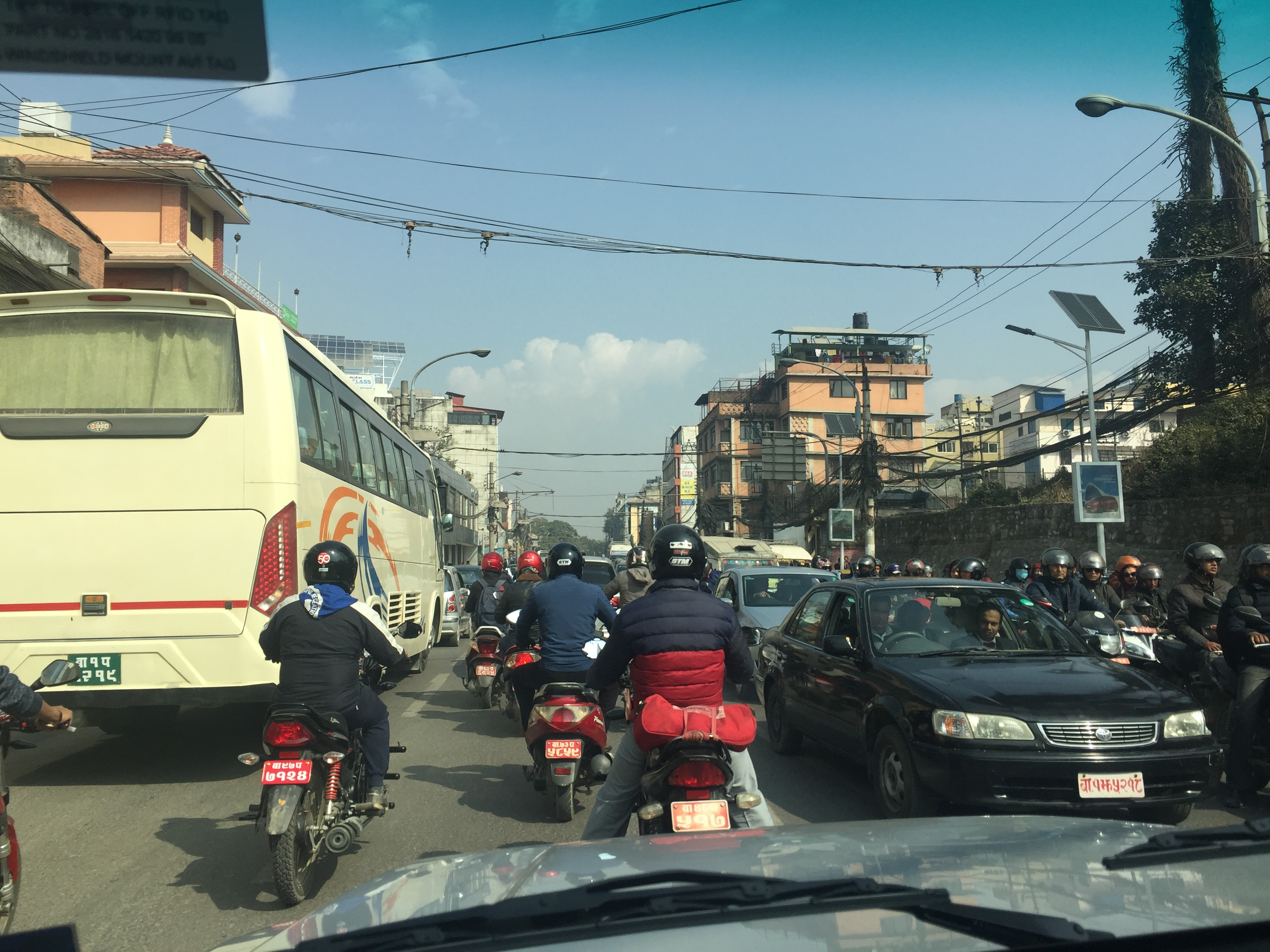 Kathmandu, traffic, congestion