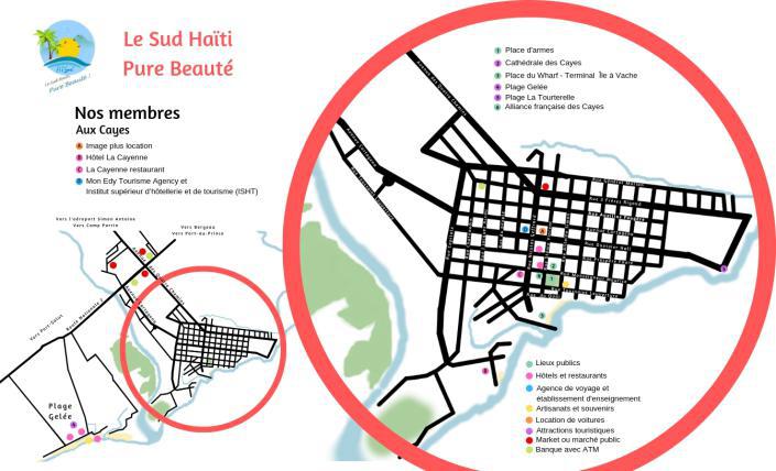 Carte touristique ATSud