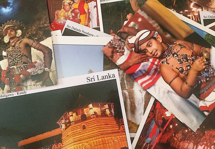 Some of the many postcards I finally sent to friends and family around the world